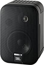 JBL control One altavoces Monitor de audio satélite de 2-vías de estante (pareja) robustos, bocina de 100 mm (4