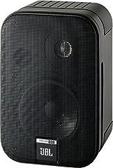 JBL Control One Robust Compact Shelf Speaker Satellite Speaker Studio Monitor Speaker (1 Pair) Black*