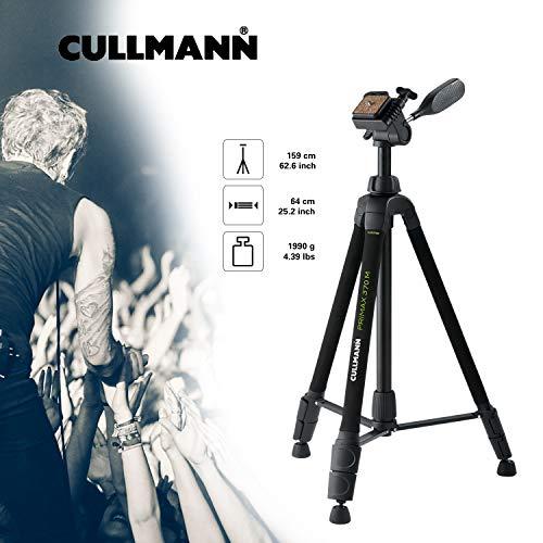 Cullmann 51372 - Trípode (Cabezal de 3 direcciones) Color Negro