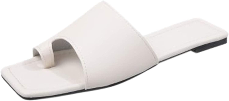 Bunion Sandals for Women Comfy - Bunion Corrector Platform Shoes Leather Women Flip-Flop Light Weight Ladys Shoes Wedge Sandals