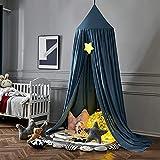 YANSJD Tente de Jeu Suspendue d'installation Facile d'auvent de lit de dôme Universel pour Les Enfants Style 7 Portable/Style 5