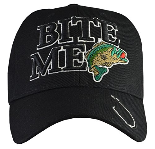 Outdoors Fishing Hats (20+ Styles) Bite Me, Bass, Trout