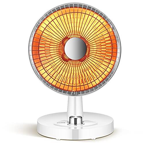 Dongxiao Calefactores Calentador de Plato Radiante infrarrojo Calefacción rápida silenciosa Calentador de Espacio portátil oscilante con protección contra volcios y sobrecalentamiento