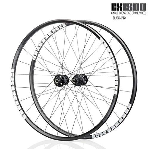 Juego de ruedas de bicicleta de carretera Ruedas de bicicleta 700C Llanta...
