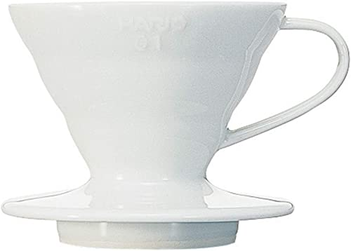 Hario VDC-01W Ceramic Coffee Dripper, White product image