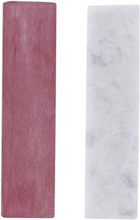 Anself 3000/10000 Grit Double Side Combination Whetstone Sharpener Knife Sharpening Stone Grindstone for Knives 100*25*10mm (White)
