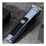 WYH Cortapelos Clippers de Pelo Profesional para Hombres cortadores de Cabello Tranquilo inalámbrico para barberos y estilistas USB Recargable (Color : Blue)