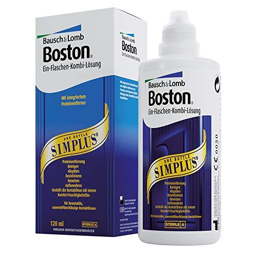 Bausch & LombBoston Simplus Pflegemittel für Kontaktlinsen, 120 ml