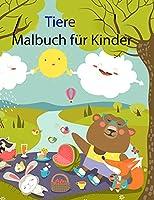 Tiere Malbuch fuer Kinder