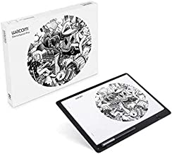Wacom Sketchpad Pro Graphic Pen Drawing Tablet Similar Intuous Pro Genuine Leather, Software Included, Compatible with Win...