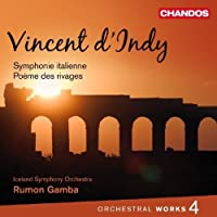 Orch Works 4 / Sym Italienne / Poeme Des Rivages (2011-03-29)