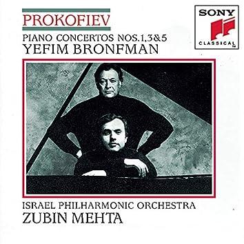 Prokofiev: Piano Concertos Nos. 1, 3 & 5