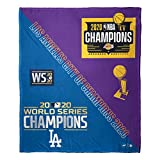 L. A. Dodgers and Lakers 2020 City of Champions 50' x 60' Silk Touch Throw Blanket