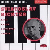Russian Piano School, Vol. 6 ~ Sviatoslav Richter- Bach / Haydn / Beethoven / Chopin