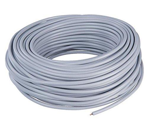 Kabel Rundkabel 3x 0,75mm² schwarz rund flexibel 1-50m Schlauchleitung 3x0,75