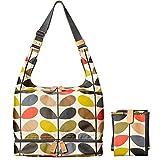 Orla Kiely - Etc Classic Multi Stem Baby Bag With Changing Mat, Bolsas de tela y playa Mujer, Multicolor (Multi), 14.2x38x32 cm (W x H L)