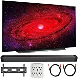 LG OLED55CXPUA 55' CX 4K OLED TV w/AI ThinQ (2020) with Deco Gear Soundbar Bundle