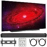 LG OLED65CXPUA 65' CX 4K OLED TV w/AI ThinQ (2020) with Deco Gear Soundbar Bundle