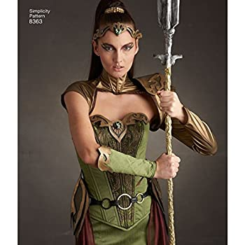 Simplicity 8363 Women s Fantasy Elf Ranger Halloween and Cosplay Costume Sewing Pattern Sizes 14-22