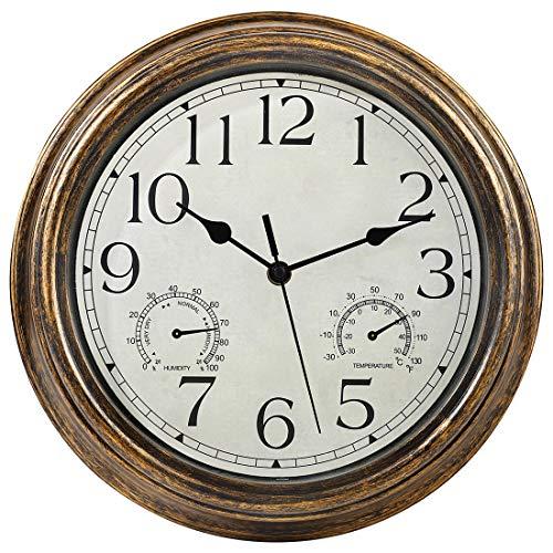 Yumt 12-Inch Wall Clock