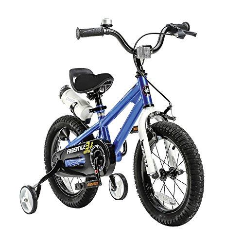 Royal Baby 667407, Bicicletta Unisex Bambini, Blu, 12 pollici