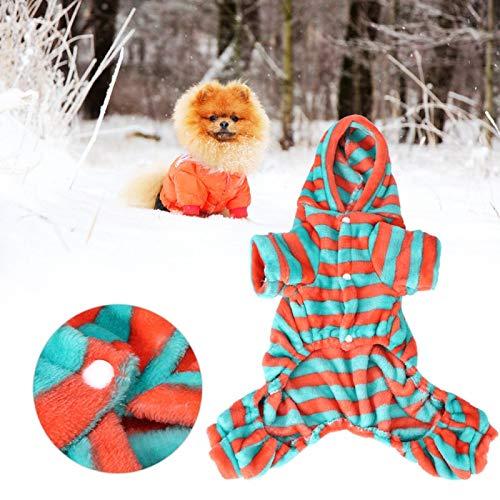 SALUTUYA Sudaderas con Capucha para Perros, Disfraz casero para Perros y Gatos, para la decoración Diaria del Perro Suave, cálido y cómodo(L)