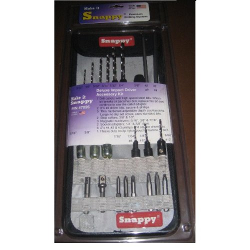 Review Of Make It Snappy Deluxe Impact Driver Access. Kit