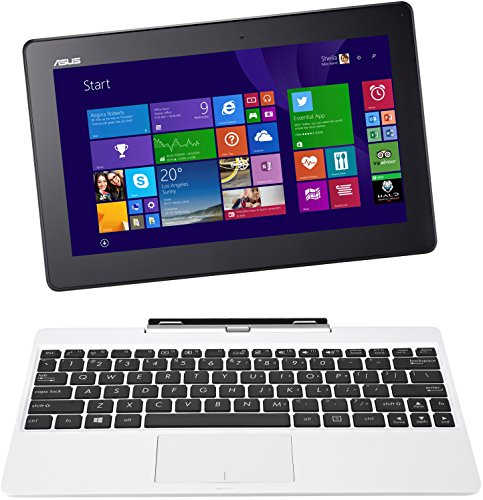 Asus T100TA-DK048H 25,65 cm (10,1 Zoll) Convertible Tablet-PC (Intel Atom Z3775 1,4GHz, 2GB RAM, 32GB eMMC, Intel HD, Windows 8 Touchscreen) weiß