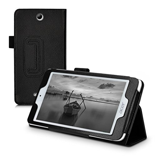 kwmobile Acer Iconia One 7 (B1-780) Hülle - Tablet Cover Case Schutzhülle für Acer Iconia One 7 (B1-780) - Schwarz mit Ständer