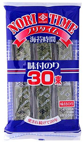 永井海苔 ナガイ ノリタイム 30束 120g [1638]