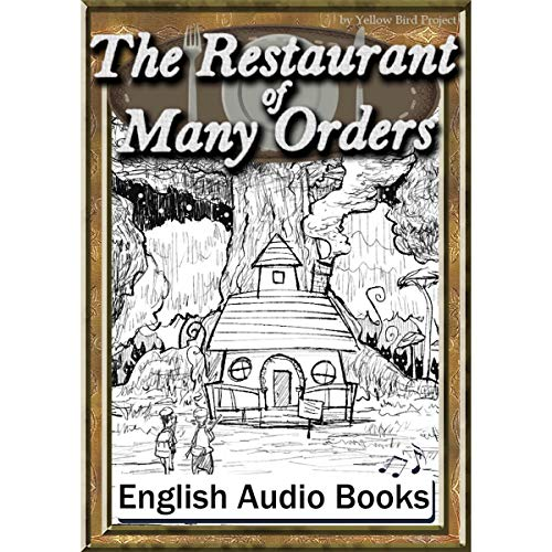 『The Restaurant of Many Orders(注文の多い料理店・英語版)』のカバーアート