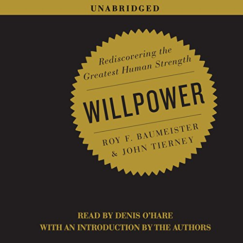 Willpower audiobook cover art