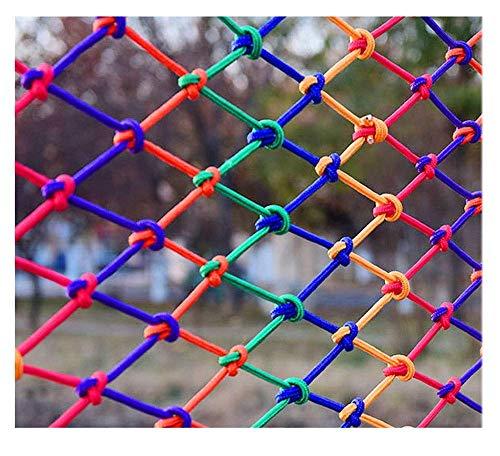 BOC Seguridad para Niños Net, Decoración Protección neto Balcón Valla Escalada cuerda tejida carga de camiones de remolque Red acoplamiento de la red barandilla de escalera Nets, para juegos infantil