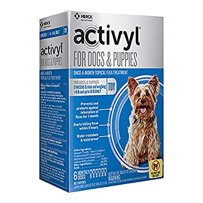 Activyl Toy Dogs & Puppies 4-14lbs, 6-pack