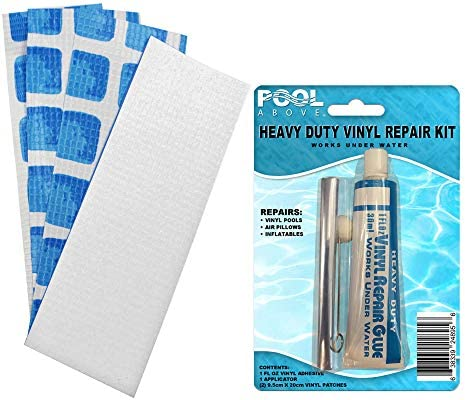 Repair Kit for Above Ground Pool Liner Easy Set or Frame Vinyl Glue Patches product image