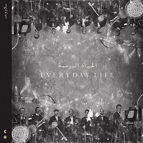 Coldplay Music Album Everyday Life (2019) Cover Poster Wandkunst Leinwanddruck Malerei Wohnzimmer Dekoration-24x24 Zoll Kein Rahmen (60x60cm