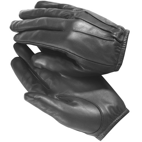 Tactical Police Kevlar Lined Cut Resistant Patrol Duty Search Gloves L