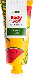 Plum Bodylovin' Tropical Tango Hand Cream | All Skin Types | Non-Greasy | Fruity | Silicone & Paraben Free | 100% Vegan | ...