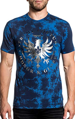 Xtreme Couture Undisputed Glory Short Sleeve Graphic Fashion UFC MMA T-shirt Top For Men By Affliction