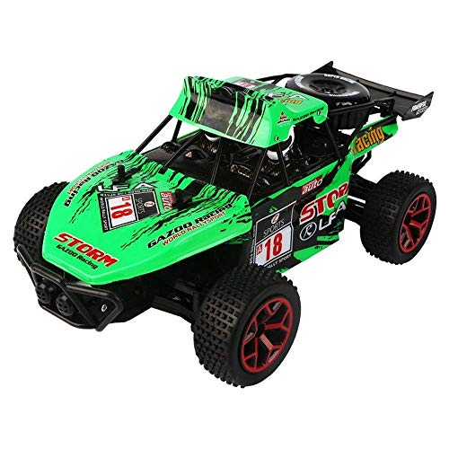 1/16 Lade High-Speed-Drift RC Auto, Off-Road-2.4G 4-Kanal RC-Rennwagen, 20 km/h Simulation All-Terrain RC Buggy,...