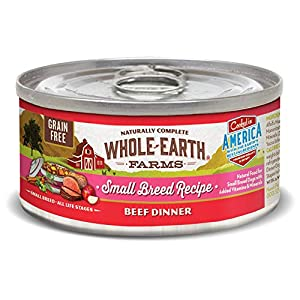 Whole Earth Farms Small Breed Grain Free Canned Wet Dog Food (Case of 24)