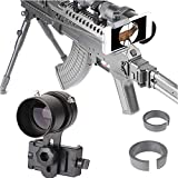 SOLOMARK Scope Phone Adapter Mount with Advanced Glass Magnification- Quick Smartphone Adapter for Rifle Scope Gun Scope Airgun Scope- Capture Hunting Image into Your Phone Screen