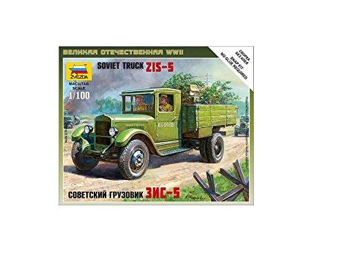 Zvezda - Z6124 - Maquette - Camion ZIS-5 - Echelle 1:100