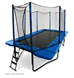 JumpSport 10'x17' StagedBounce | Includes Rectangular Trampoline, Safety Enclosure, and 108 High Performance...