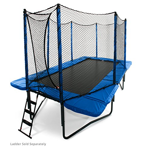 JumpSport 10'x17' StagedBounce | Includes Rectangular...