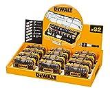 Dewalt DT7969M-QZ DT7969M-QZ-Merchandiser con 12 juego DT7969-QZ: 32 puntas, Pz, Ph, Pl, Torx inviolables hexagonal y adaptador, Multicolor
