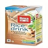 Lima Reis Haselnuss Mandel Drink, 1000 ml -