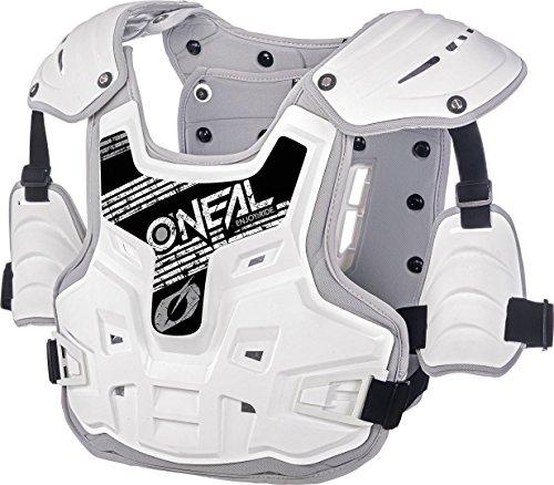 O'neal PXR Stone Shield Brust/Rücken Protektor weiß/grau Oneal