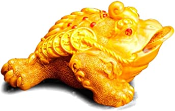 Tea Pet Ornaments, Color Change When You Feel Warm And Water, Lucky Gold Toad Tea Set Accessories, Handmade Hairy Crabs, F...