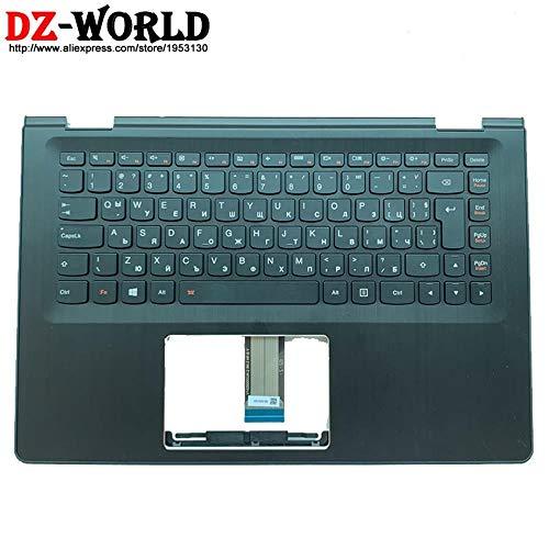 Handballenauflage mit bulgarischer Tastatur mitHintergrundbeleuchtung für Lenovo Ideapad Yoga 500-14Ibd Isk Ihw Flex 3-1470 C Abdeckung 5Cb0J34085